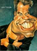 Caricaturi de personaje - John Travolta