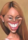 Caricaturi de personaje - Kylie Minogue
