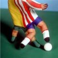 Artistice - La fotbal cu mana pictata