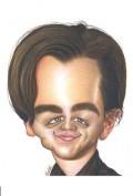 Caricaturi de personaje - Leonardo DiCaprio