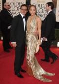 Celebritati - Golden Globes 2009  - Jennifer Lopez si Marc Anthony
