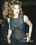 Celebritati - Madonna cu sanii la vedere