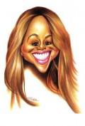 Caricaturi de personaje - Mariah Carrey