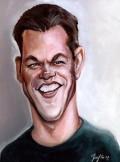 Caricaturi de personaje - Matt Damon