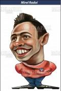 Caricaturi fotbalisti Euro 2008 - Mirel Radoi