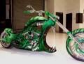 Auto Moto - Motocicleta verde