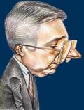 Caricaturi de personaje - Mugur Isarescu