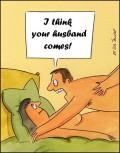 Caricaturi - Cred ca a venit sotul tau