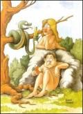Caricaturi - Adam si Eva