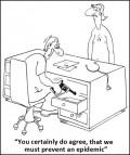 Caricaturi - Trebuie sa prevenim o epidemie