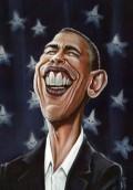 Caricaturi de personaje - Obama