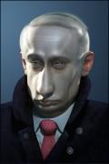 Caricaturi de personaje - Vladimir Vladimirovici Putin