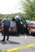 Auto Moto - Parcare periculoasa