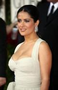 Celebritati - Golden Globes 2009  - Salma Hayek