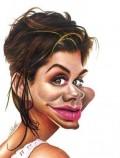 Caricaturi de personaje - Sandra Bullok