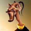 Caricaturi de personaje - Snoop Dogg