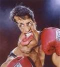 Caricaturi de personaje - Rocky Balboa