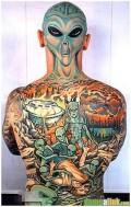 Ciudate - Tatuaj de extraterestru