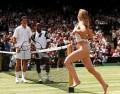 Sport - Pe terenul de tenis....