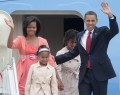 Celebritati - Obama impreuna cu familia sa