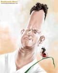 Caricaturi de personaje - Tom Hanks