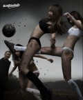 Reclame - Fotbal feminin