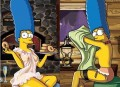 Desene animate - Marge Simpson, sexy in Playboy